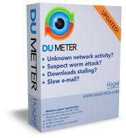 DU Meter - the award winning network monitor from Hagel Technologies