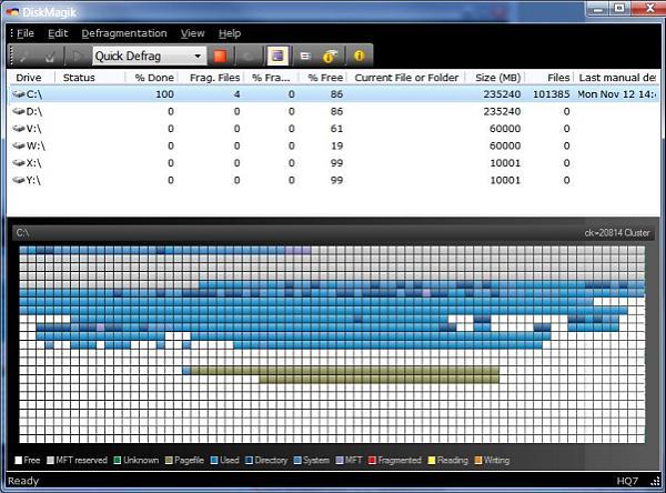 DiskMagik - 磁盘碎片整理工具[Windows][$29.95→0]丨反斗限免